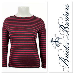 Brooks Brothers blue/red striped sweater